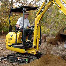 Norsic uses special equipment to get digging jobs done efficiently.