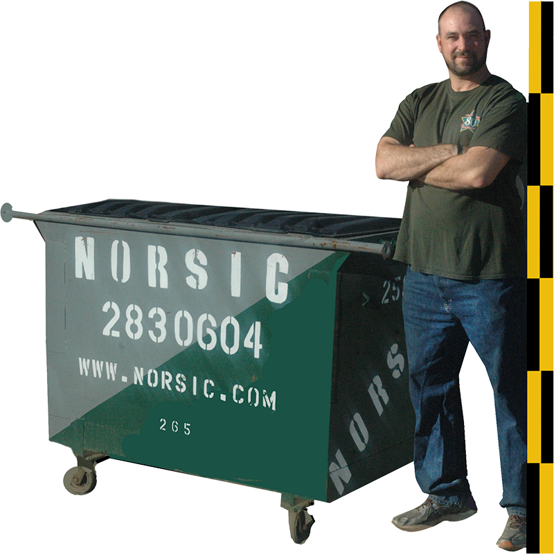 2 Cubic Yard Rear Load Dumpster