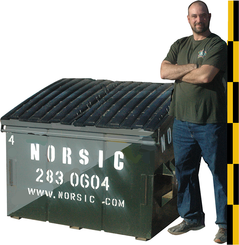4 Cubic Yard Front Load Dumpster
