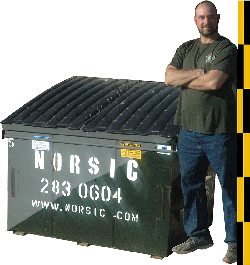 5 Cubic Yard Front Load Dumpster