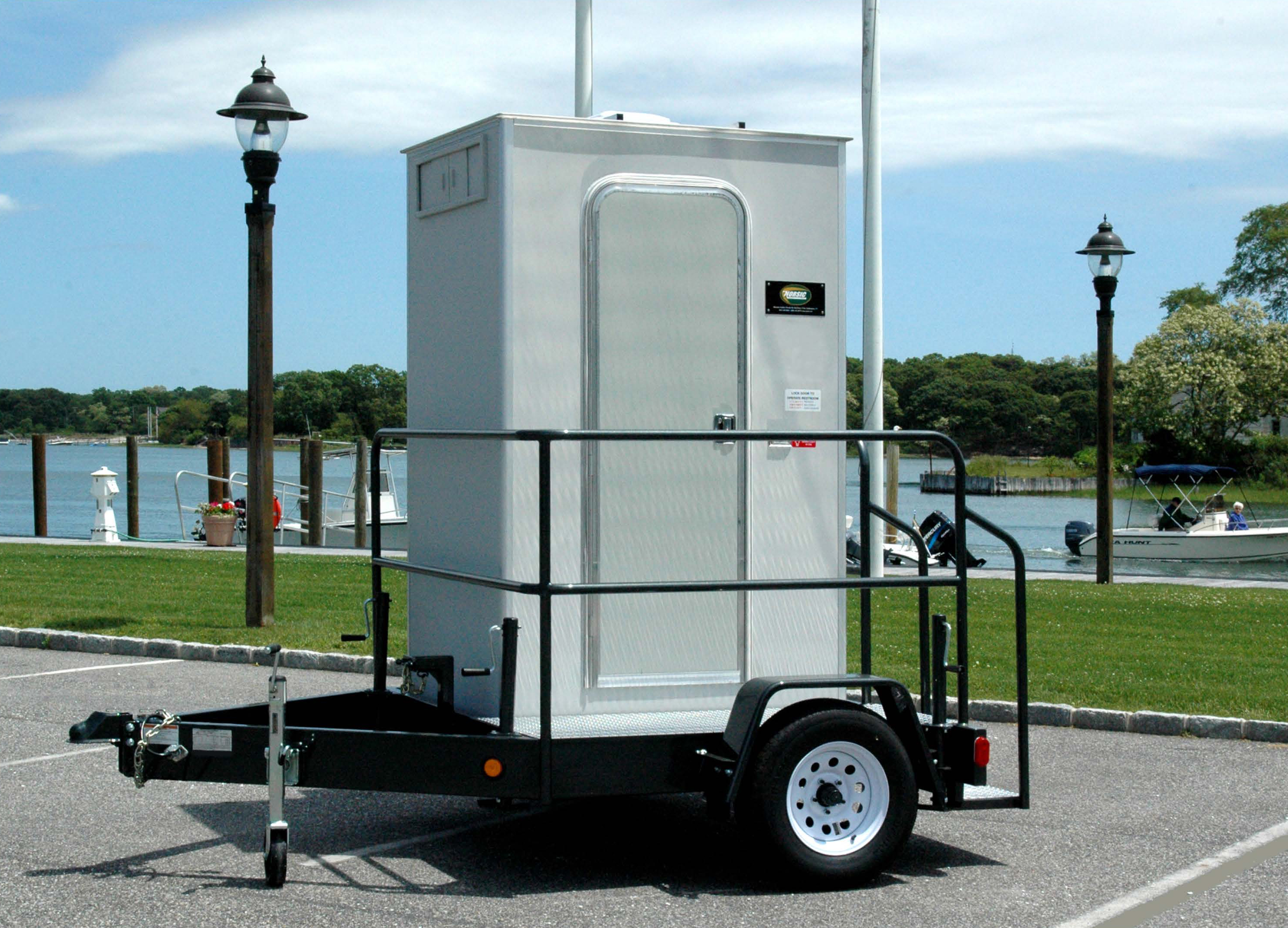 Restroom on Trailer